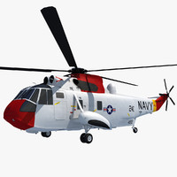 sikorsky sh-3 sea king 3ds