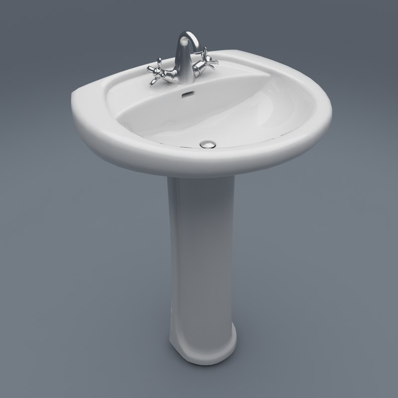 wash bathroom 3d model