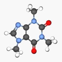 Caffeine - Molecule Structure