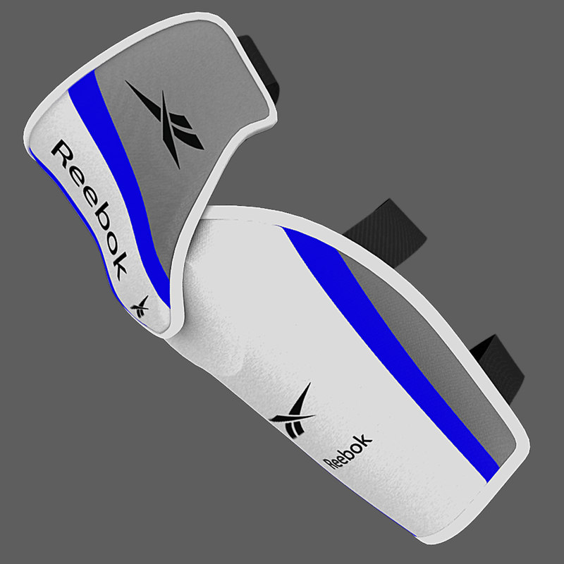 3d model ice hockey elbow pad