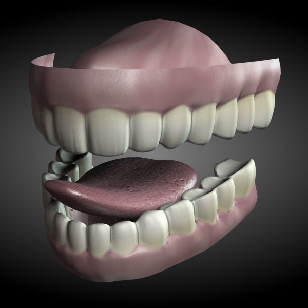 rigged teeth max