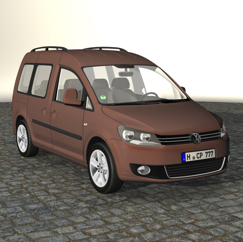 3d caddy family 2011 model