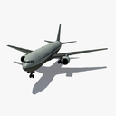 Boeing 767-200 3D models