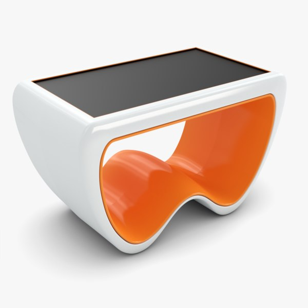 3d model crasiis multitouch table cras