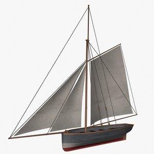 3ds max cutter boat