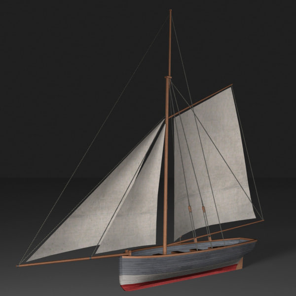 3ds max cutter boat