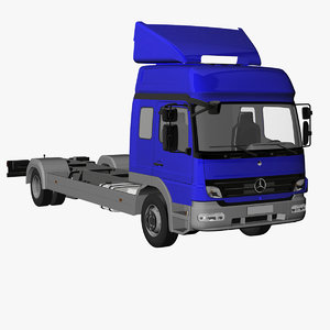 atego roof 3d model