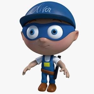 maya plumber cartoon