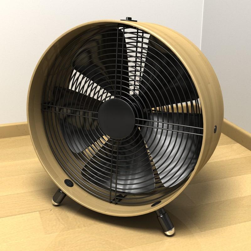swizz style fan 3d max