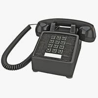 Traditional Retro Desk Corded Phone 2
