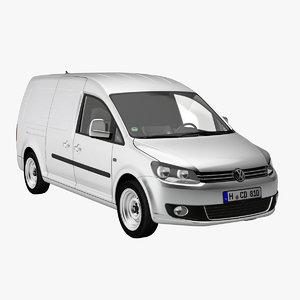 3d model caddy maxi delivery van