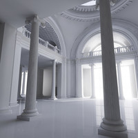 Classic Interior Scene 2
