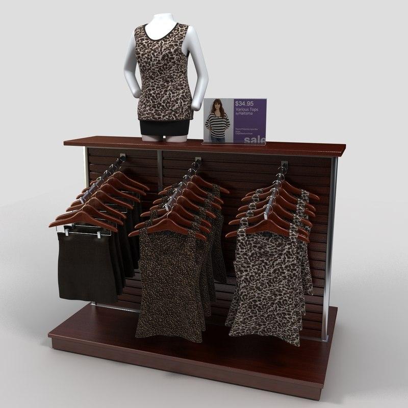 max womens blouses rack