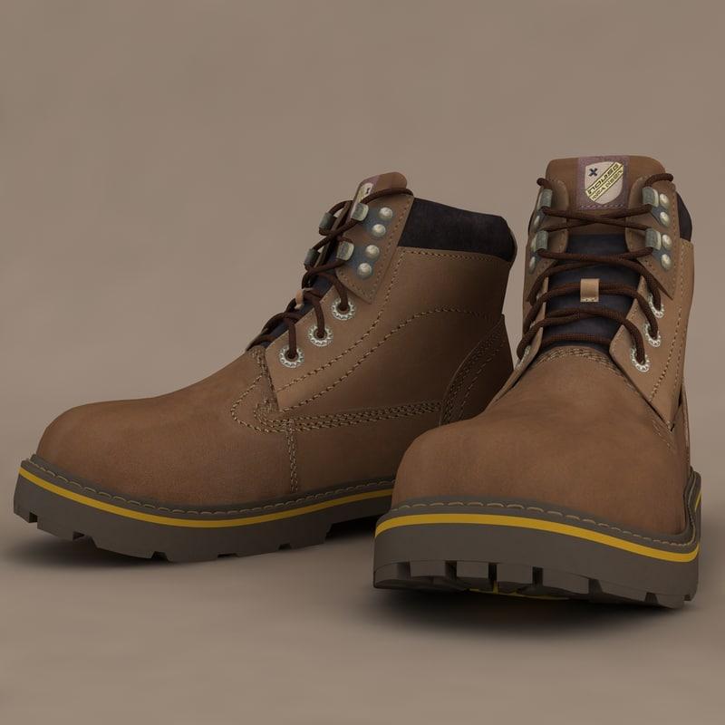 3d winter shoes