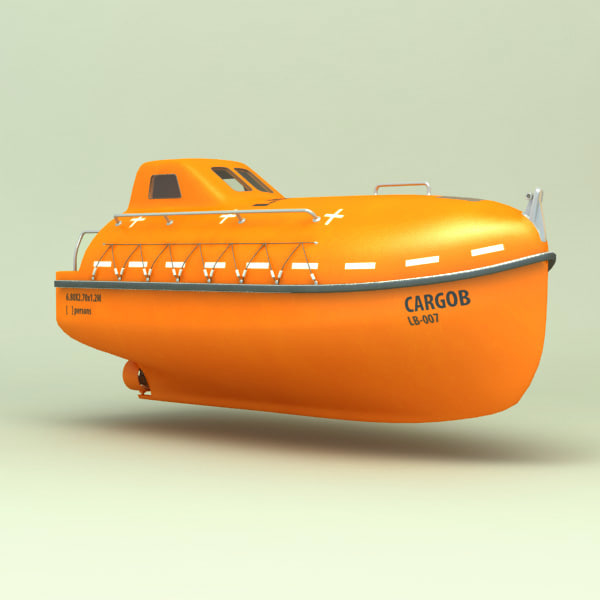 3ds fall life boat