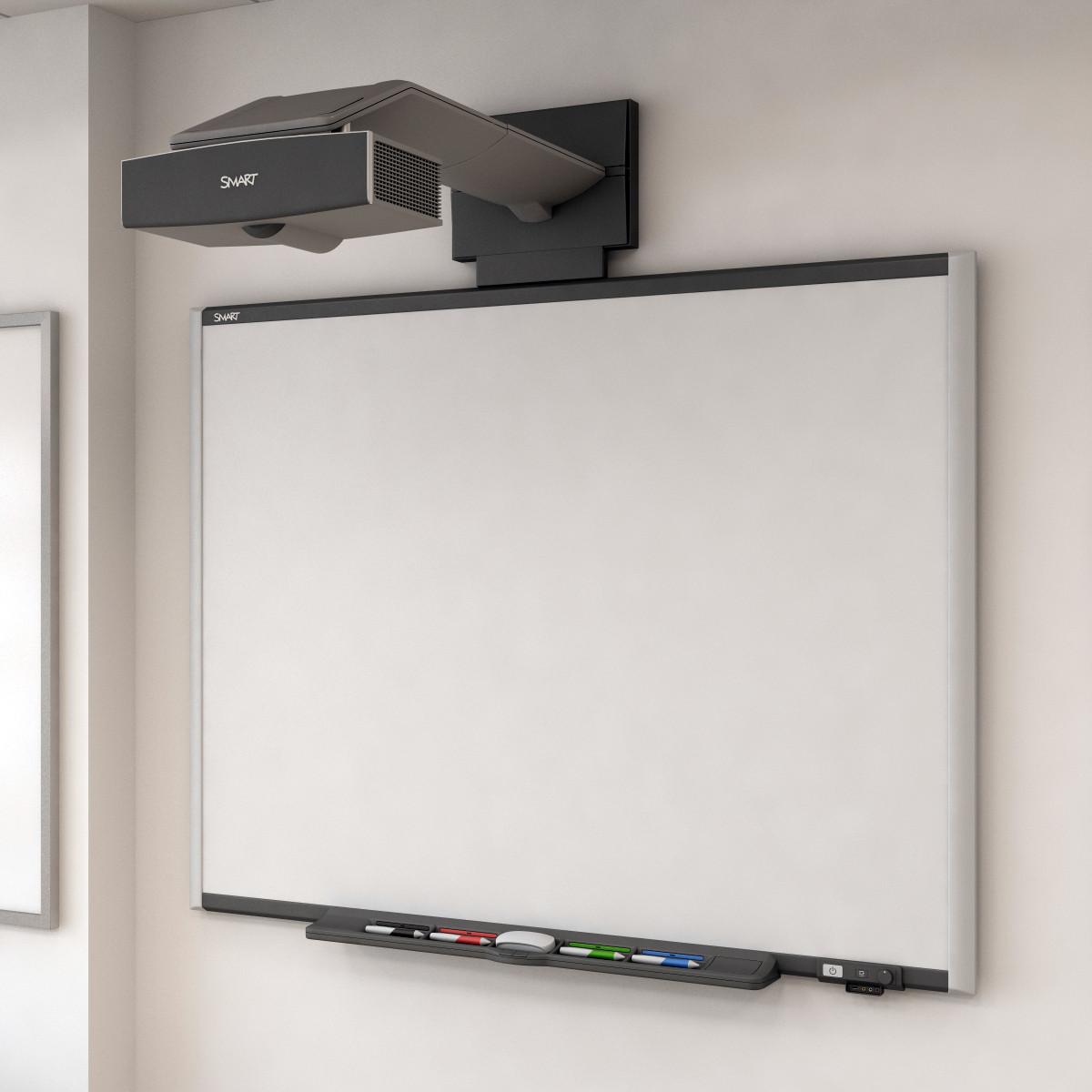 Smart Forfour 2006 3d Model: Interactive Whiteboard 3d Model
