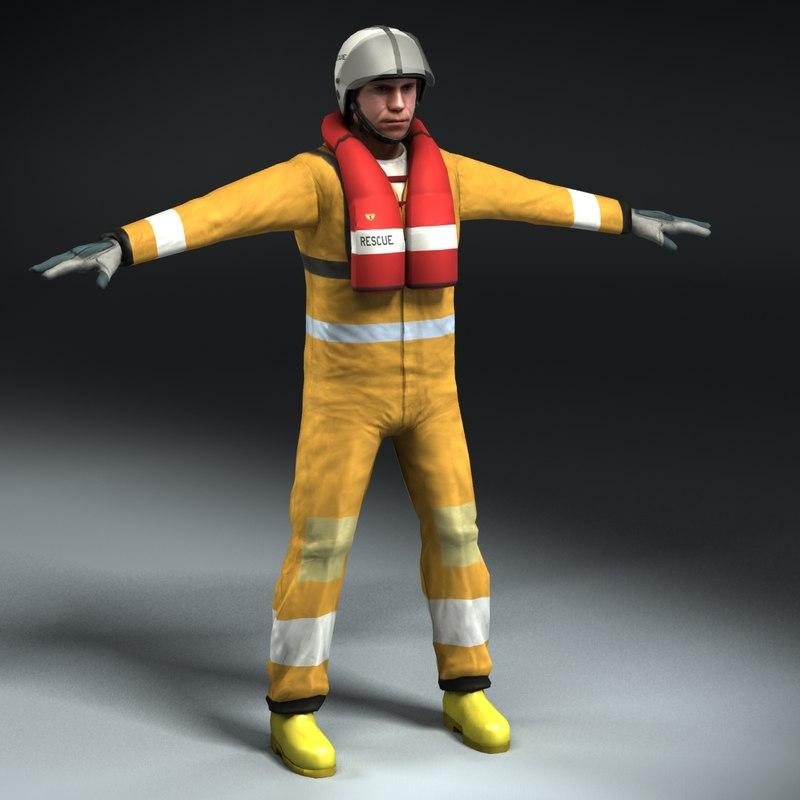 max air sea rescue crew