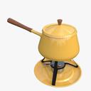 Fondue Pot 3D models