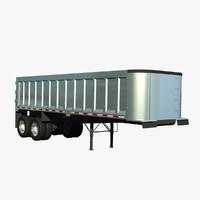 lwo trailer 2 axle trail