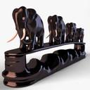 elephant statue 3D models