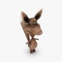 Cartoon Fox 3D models