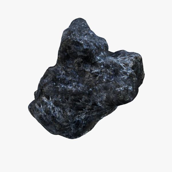hematite stone space 3d model