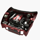 3d engine car model