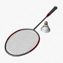 badminton 3D models