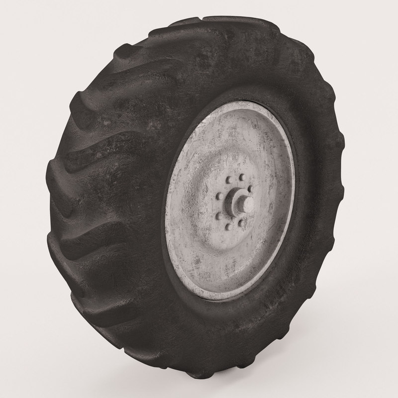 tire tractor 3d model
