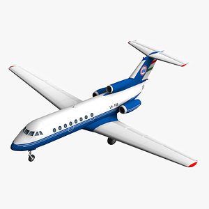 max cheetah3d jak 40 aircraft