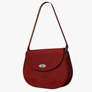 3dsmax shoulder bag