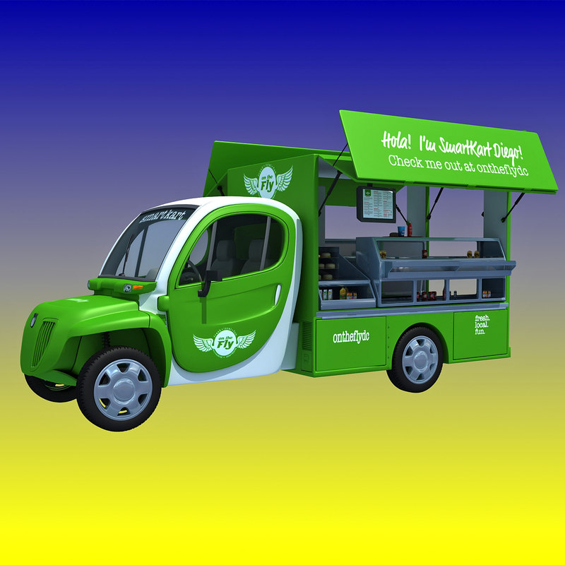 fly food truck 3d 3ds