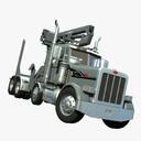 self-loading dump truck 3D models