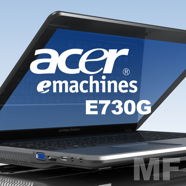 notebook acer e-machines e730g 3ds