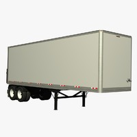 Manac 32ft Van Lead Trailer