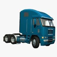 3d lw freightliner argosy truck