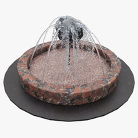 3d model of fountain 4