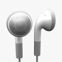 3ds max apple earphones