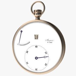 3d breguet stopwatch vol 1