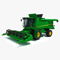 Combine Harvester John Deere