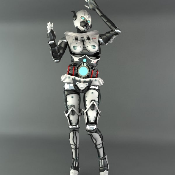 3ds robot female