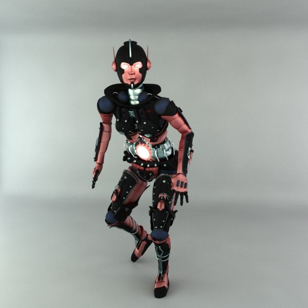max robot female