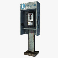 3d payphone games modeled