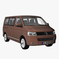 t5 multivan 2012 3d 3ds