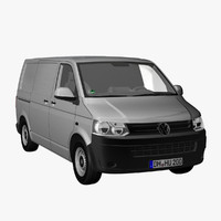 VW T5 2012 Panelvan, short