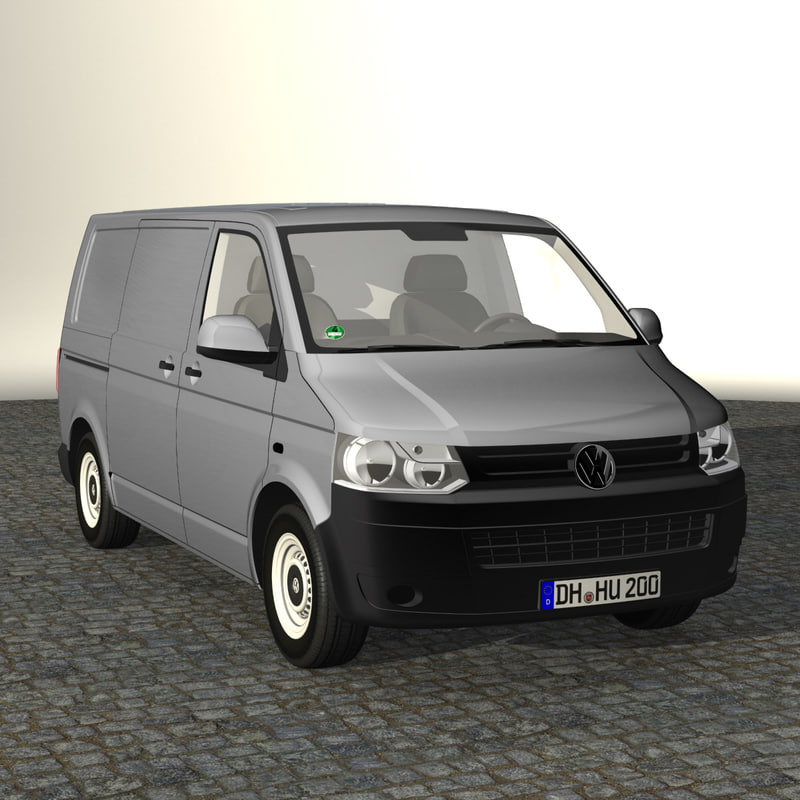 3d model t5 van 2012 short