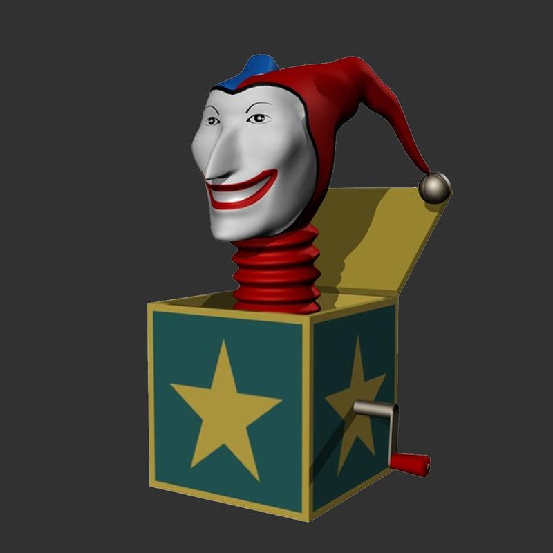 3d jack box