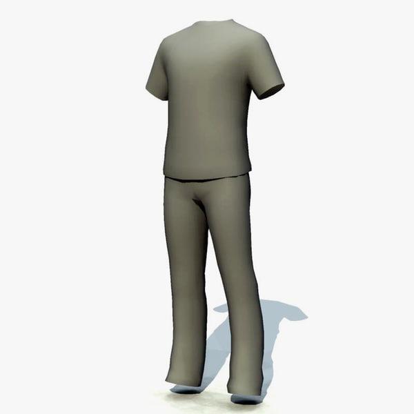t-shirt shirt t 3d model