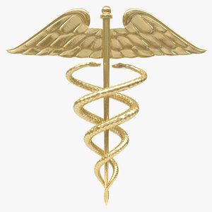 medical symbol 3d model