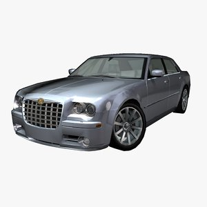 3ds max luxury muscle car chrysler